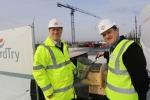 white city health centre concrete pour