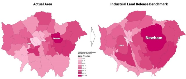 industrial land release map lbhf