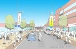 Hayes Station Road nov 2013